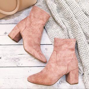 Women's Blush Boots Size 7.5
